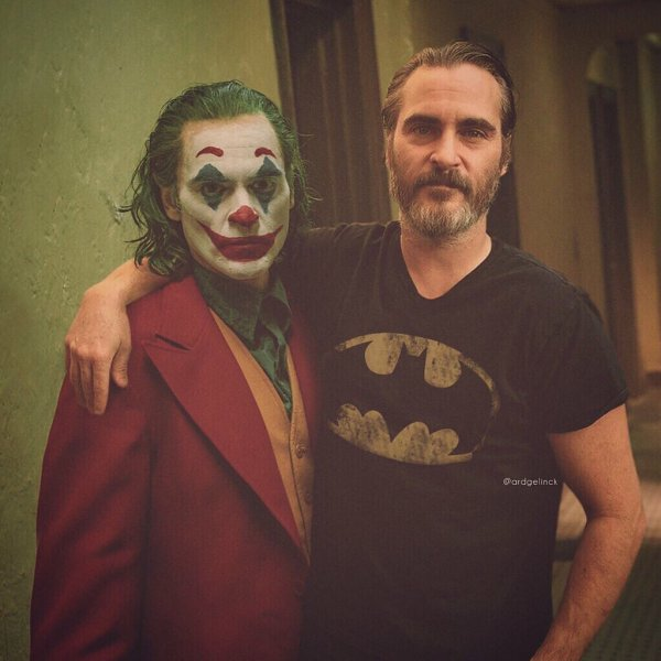 Хоакин Феникс и Джокер