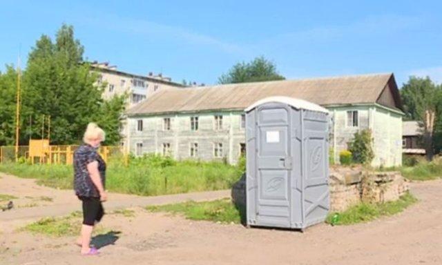 Произошел прорыв: в Кирове начали устанавливать общественные уборные