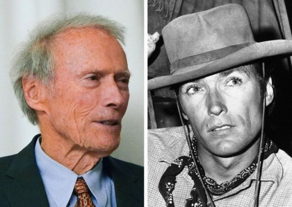 Клинт Иствуд, 90 и 35 лет