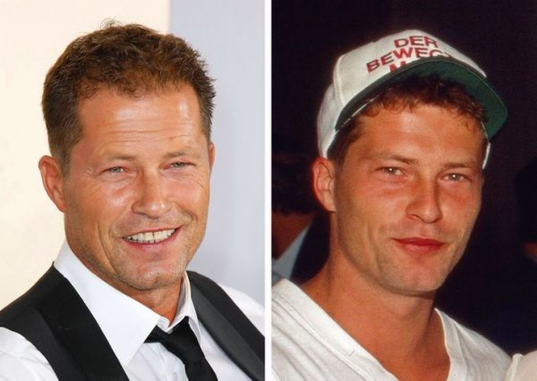 Тиль Швайгер, 56 и 26 лет