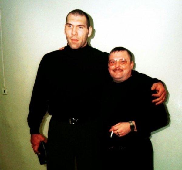 Николай Валуев и Михаил Круг