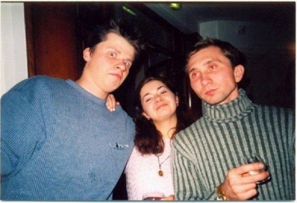 Гарик Харламов и Дмитрий Грачев, конец 90-х