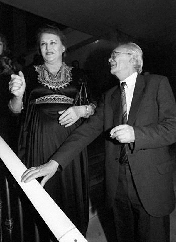 Нонна Мордюкова и Леонид Гайдай, 6 января, 1992 года