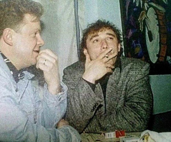 Сергей Супонев и Николай Фоменко. Россия, вторая половина 90-х