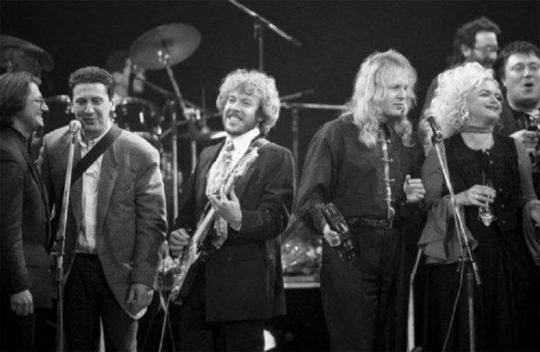 Александр Градский, Алексей Макаревич, Андрей Макаревич, Крис Кельми и Лариса Долина, 13 декабря 1993 года