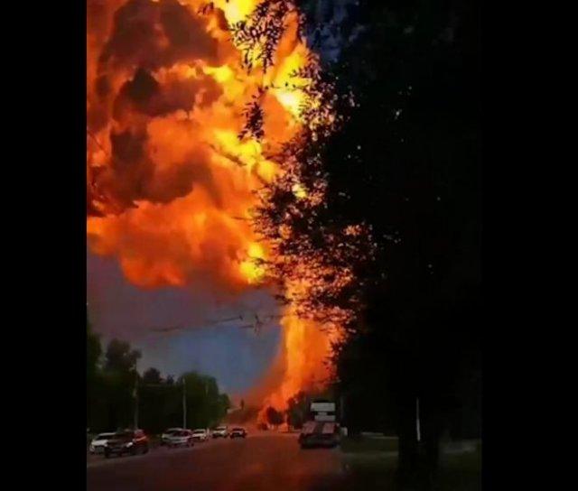 В Волгограде взорвалась газовая заправка