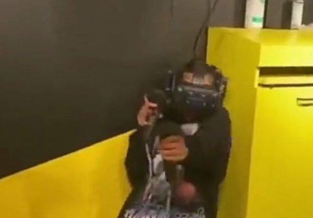 Виртуальная реальность может травмировать