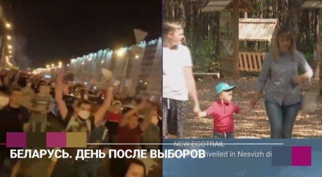 Белоруссия: реальность против телевидения