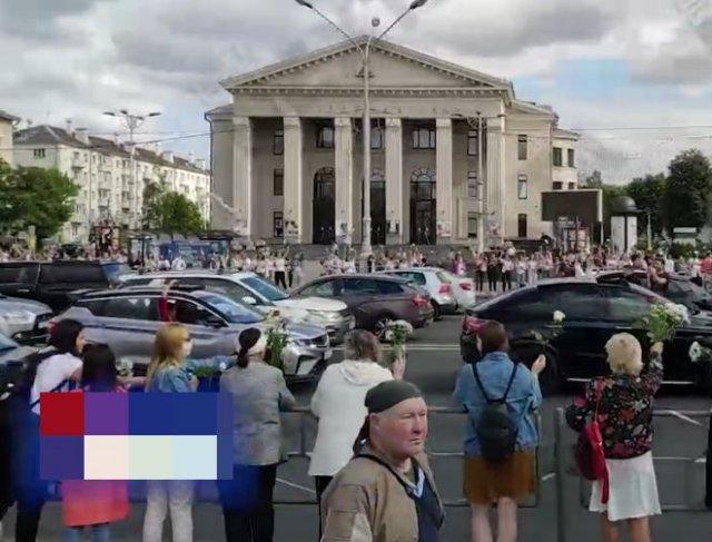 Масштабы протестов в Белоруссии