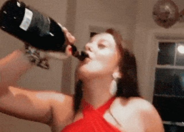 Смешные фейлы с шампанским