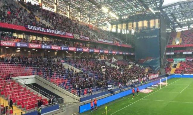 Болельщики ЦСКА поддержали Белоруссию и были задержаны