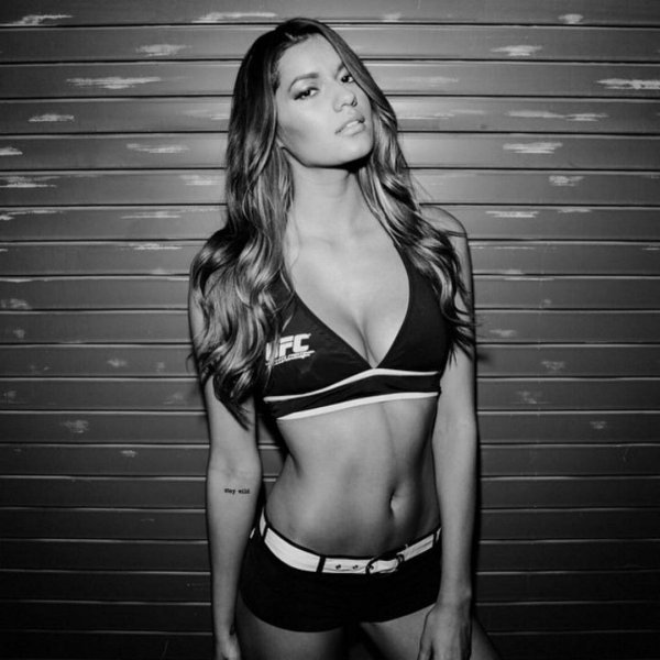 Ринг-герлз из октагона UFC