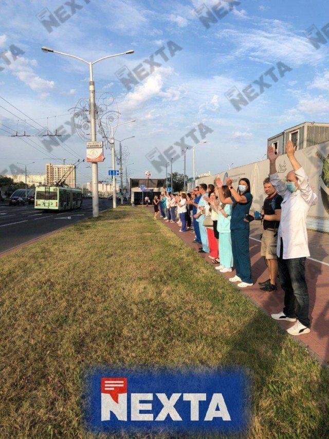 В Беларуси продолжаются забастовки по всей стране