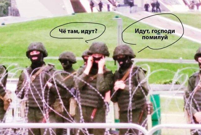 Шутки и мемы про штурм площади Независимости и резиденции Лукашенко