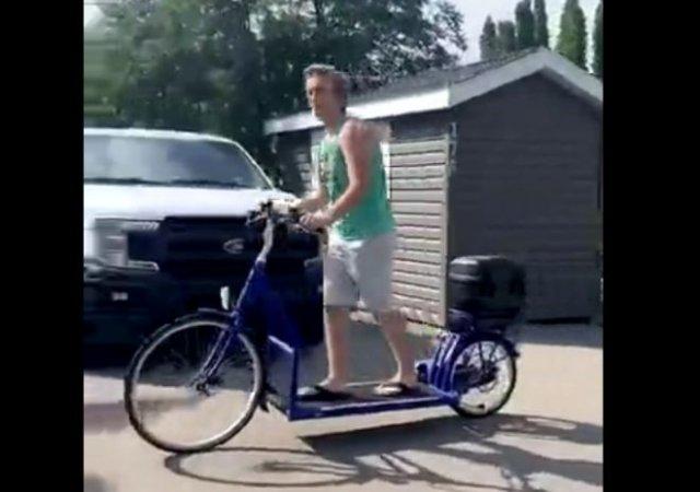 Беговая дорожка плюс велосипед