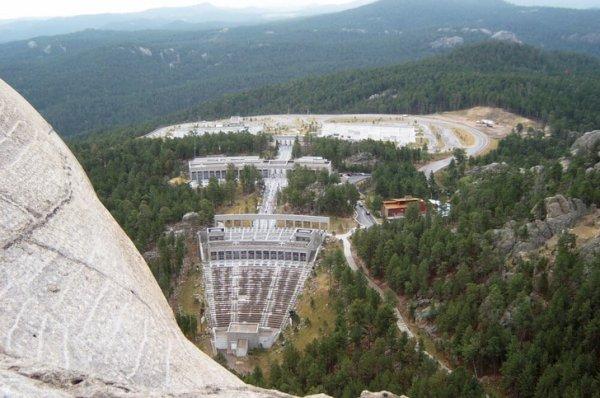 Вид с горы Рашмор