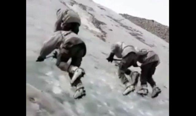 Необычные учения индийских военных