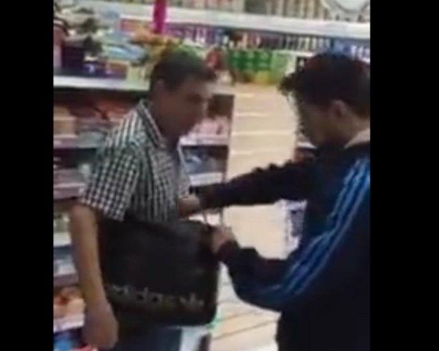 Наказание за воровство в магазине
