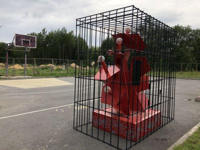 Памятник победы над коронавирусом открыли в Петербурге