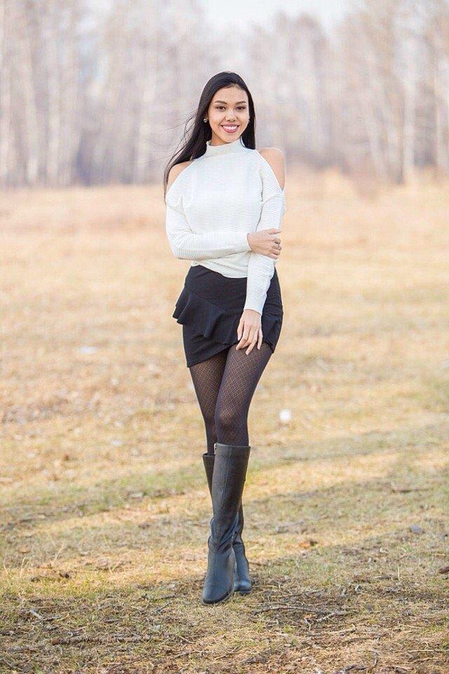 Анна Янгулова - победительница конкурса «Самое красивое лицо России»