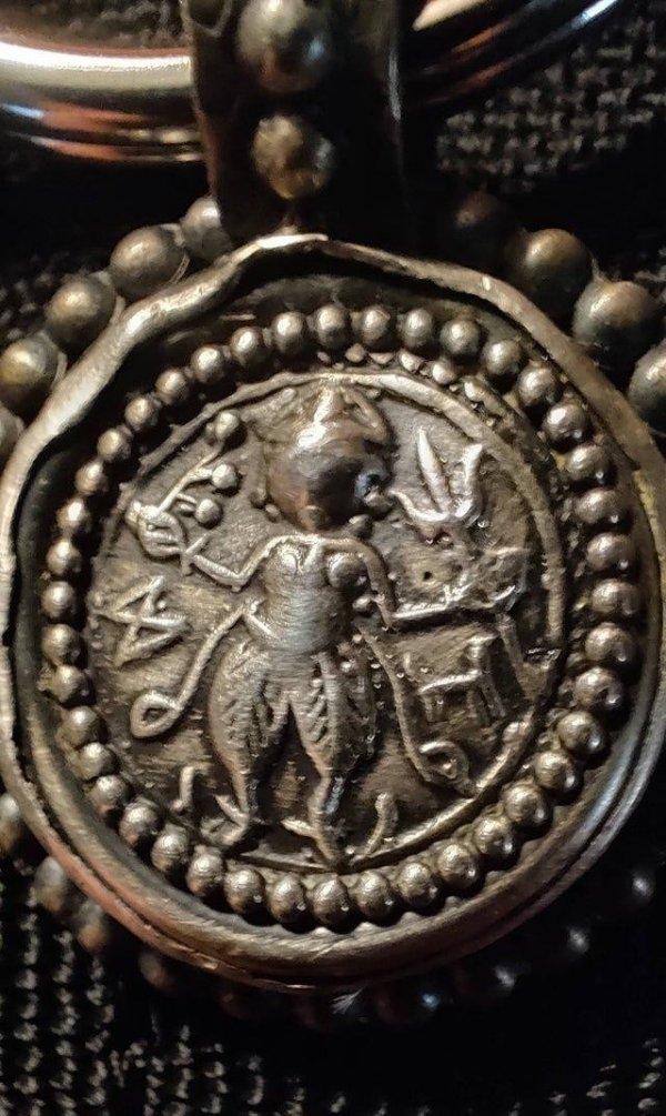 Кулон богини Кали
