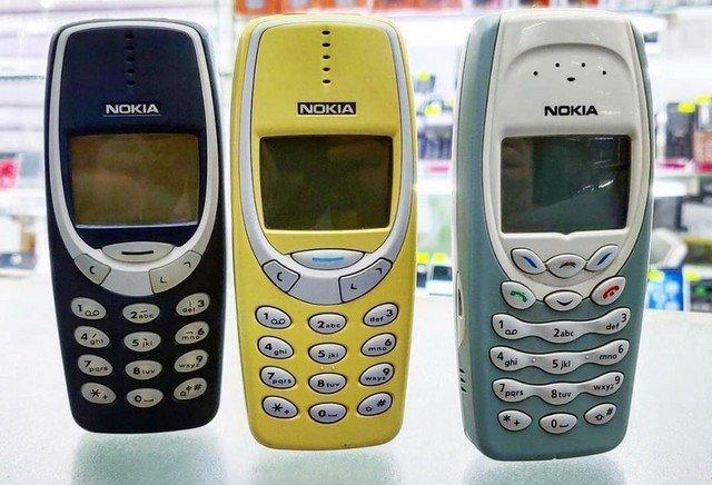 Телефон Nokia 3310 и 3410