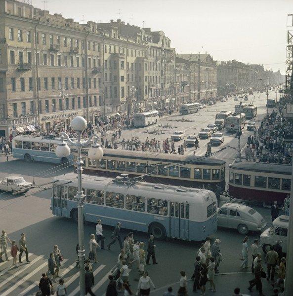 Невский проспект1973 г.