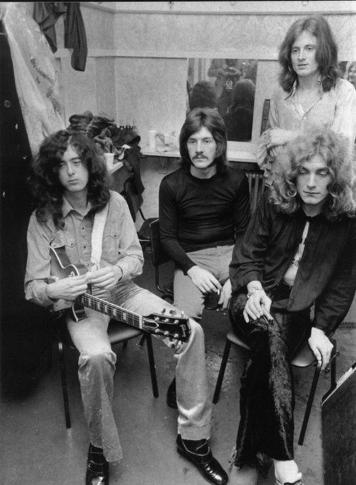 Led Zeppelin, 1969 год.
