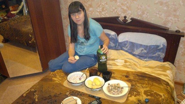 российская романтика в постели