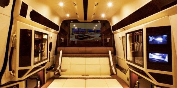 Спальня в автомобиле