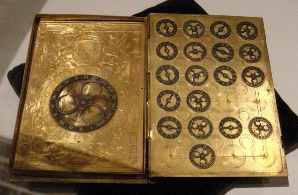 Книга с шифром из французского суда XVI века.