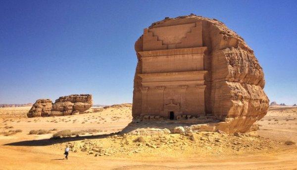 Мадаин-Салих - дворец в Саудовской Аравии