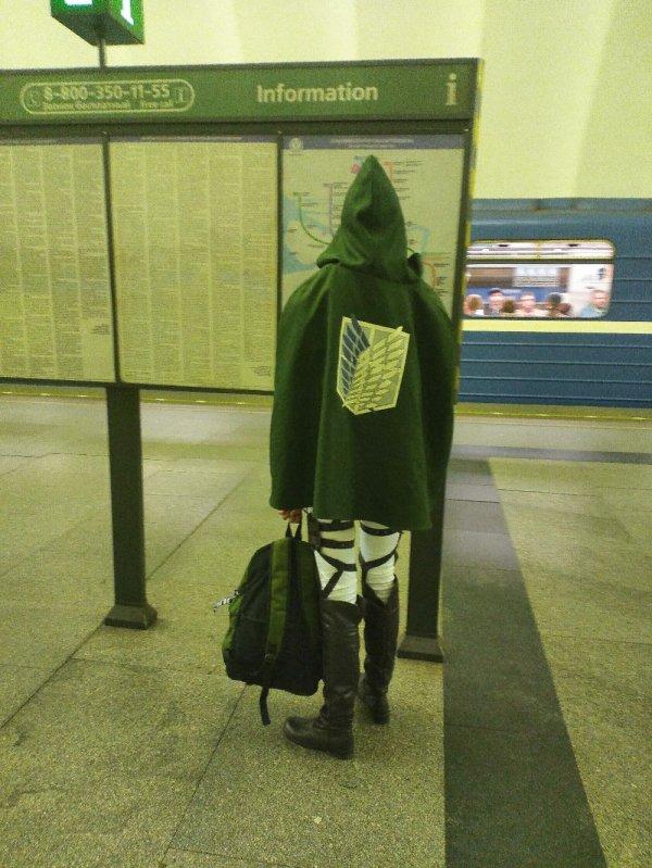 """Куртка из аниме """"Атака титанов"""""""