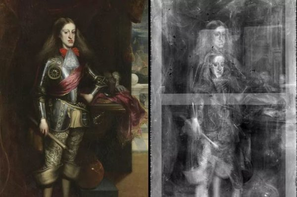Портрет испанского короля Карла II