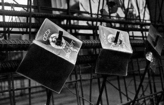 Голосование за сохранение СССР в Вильнюсе. Независимая Литва. Январь 1991 года.