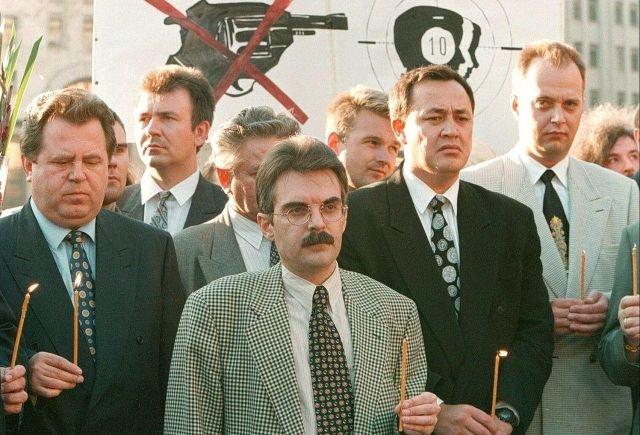 Акция «Бизнесмены против террора». 16 августа, 1995 год.