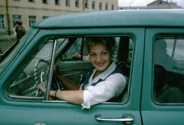 Женщина за рулем, 1960–е годы, СССР