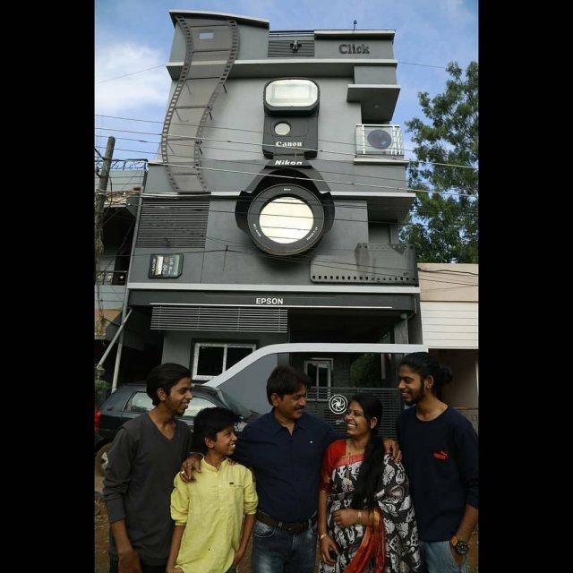 Дом Click индийского фотографа Рави Хонгала