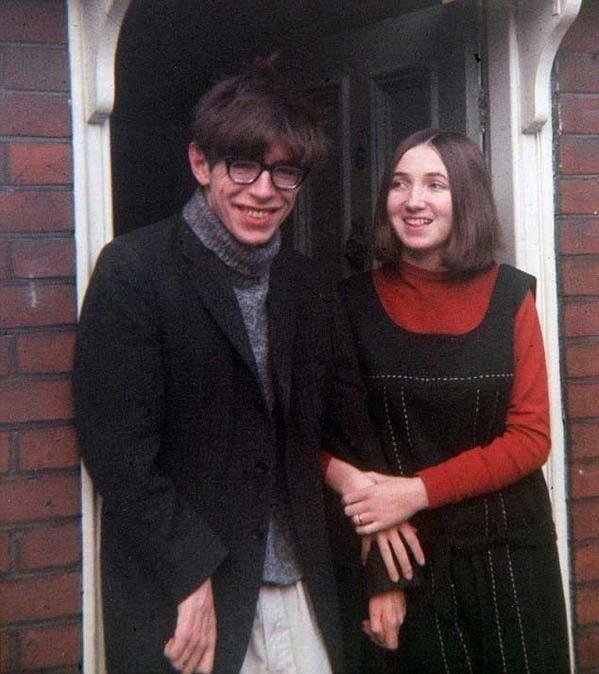 Стивен Хокинг и его жена Джейн Уайлд, 1965 год.