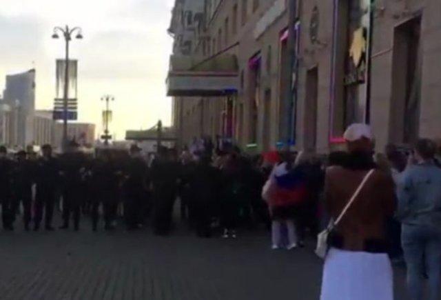 """""""Звуковое оружие"""" женщин против белорусских силовиков"""