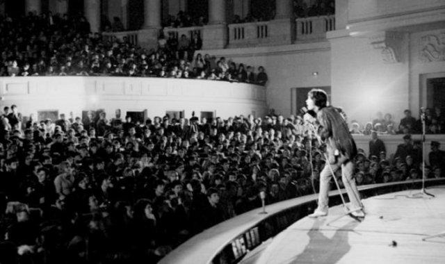 The Rolling Stones выступают в Зале конгрессов Дворца культуры и науки, 1967 год, Польша