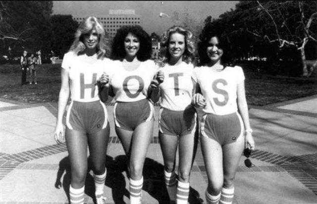 На съемках B–movie H.O.T.S., ок. 1979 г., США