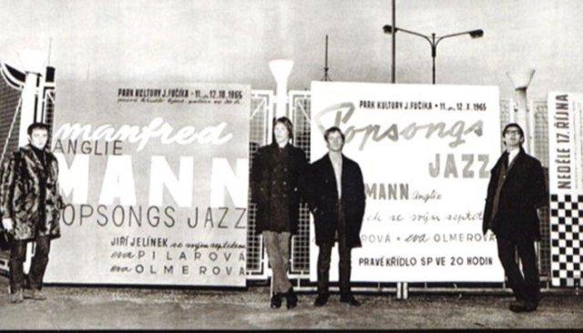 Группа Манфреда Манна в Праге, 1965 год, Чехословакия