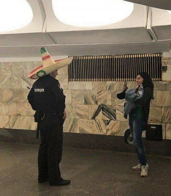 Полицейский в сомбреро