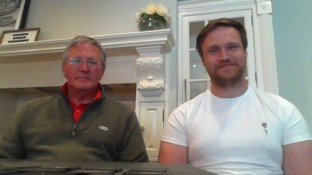 Мэтью Роббинсон с отцом