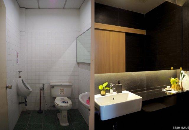 Туалет дома в Бангкоке
