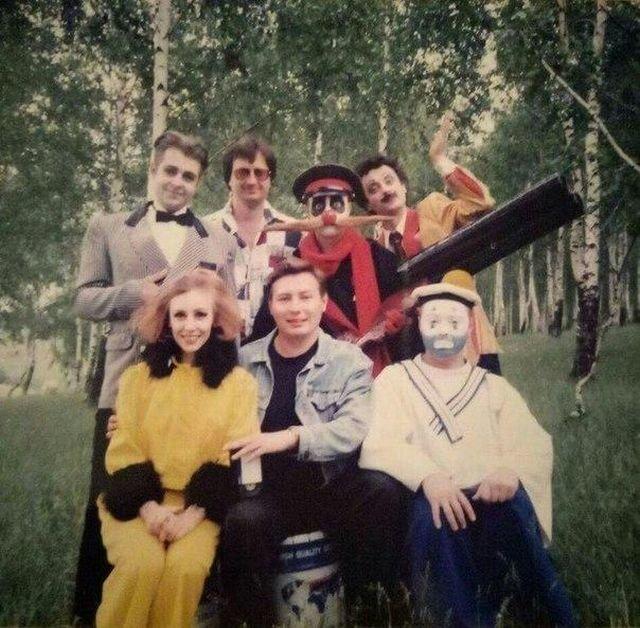 Комик-группа «Каламбур» 1996 год.