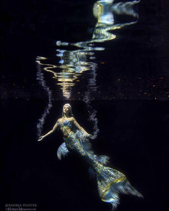 Ханна Фрейзер в образе русалки