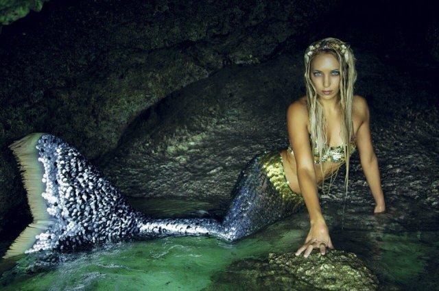 Ханна Фрейзер - в образе русалки