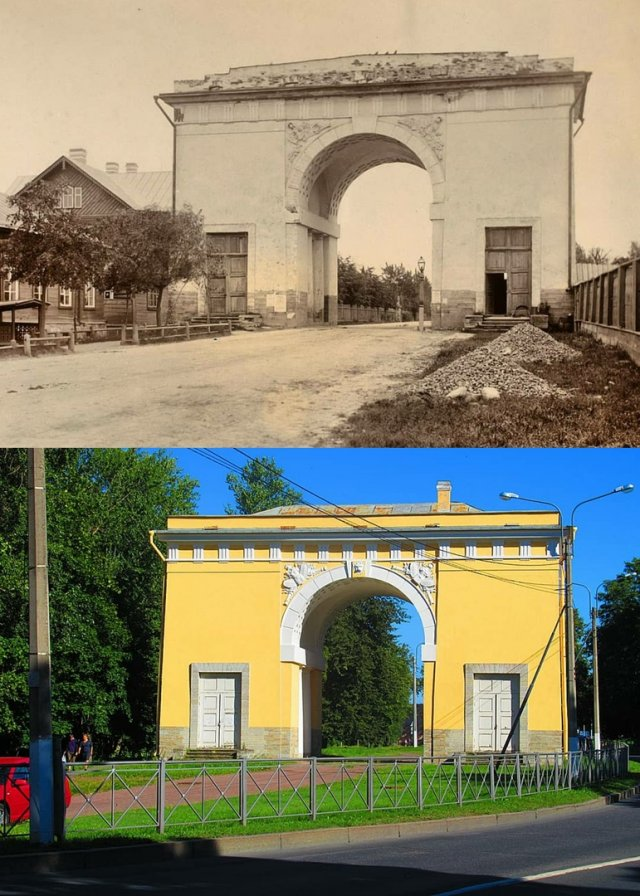 Ораниенбаум (Ломоносов)Городские ворота1892 г. - 2020 г.